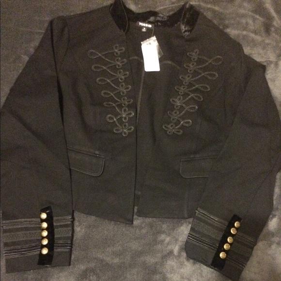 6c2410aa9e6 Stunning Embellished Torrid military jacket 😍